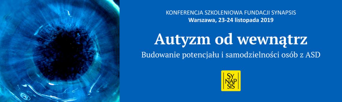 baner konferencji Autyzm od wewnątrz